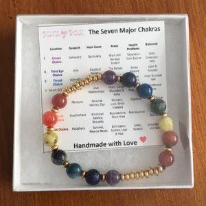 Jewelry - Genuine Healing Chakra bracelet New In Box
